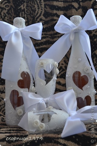 .оченьхотелось попробовать сделать мне свадебный набор, и вот появился повод. Я очень благодарна невесте Юлии, которая доверила мне это дело! Это мой дебют! фото 6