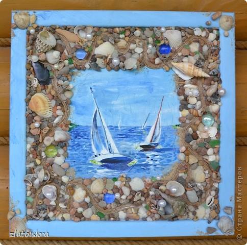 Картины своими руками морская тема для 23