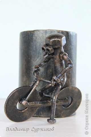 Копилка из металла