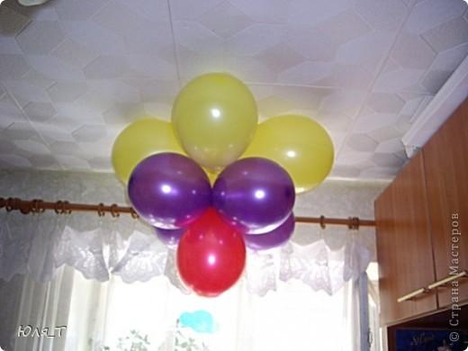 Как же я люблю шары!!! С ними так легко и просто сделать праздник! фото 1