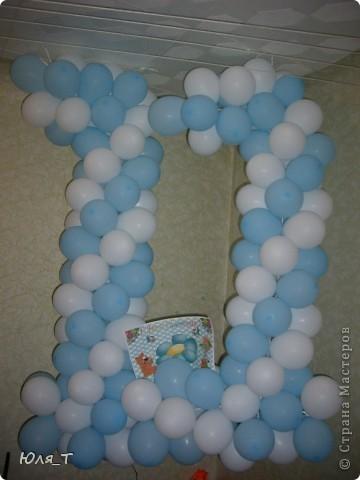 Как же я люблю шары!!! С ними так легко и просто сделать праздник! фото 3