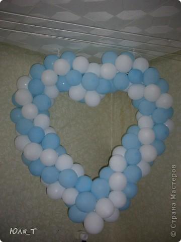 Как же я люблю шары!!! С ними так легко и просто сделать праздник! фото 7