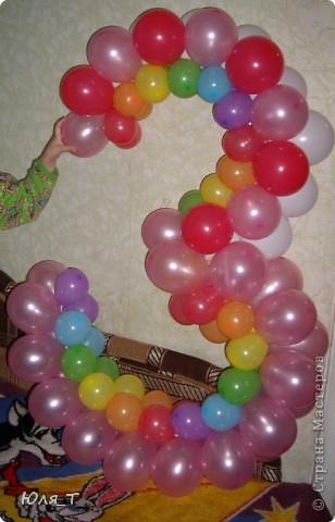 Как же я люблю шары!!! С ними так легко и просто сделать праздник! фото 4