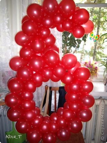 Как же я люблю шары!!! С ними так легко и просто сделать праздник! фото 6