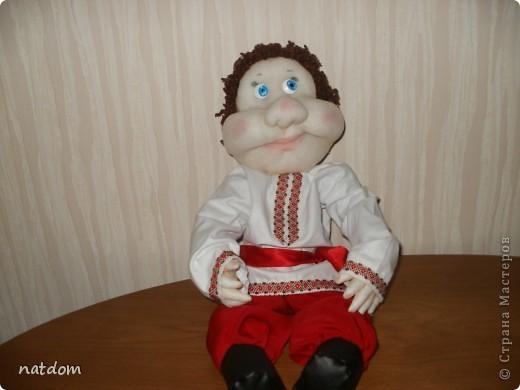 Украинец, в народном стиле, рост 55 см фото 3