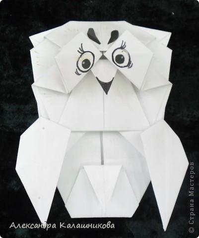 Мастер-класс Оригами СОВА МК