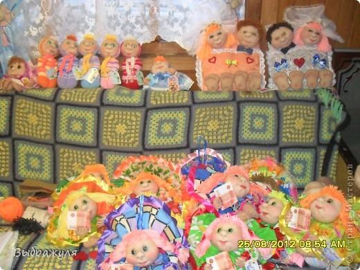 Вот такие куклы были сшиты на ярмарку Ангарский арбат ещё в августе фото 1