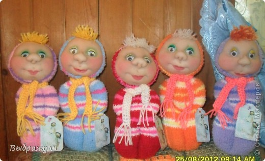 Вот такие куклы были сшиты на ярмарку Ангарский арбат ещё в августе фото 16