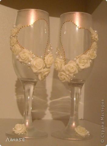 декор свадебных бутылок фото 9