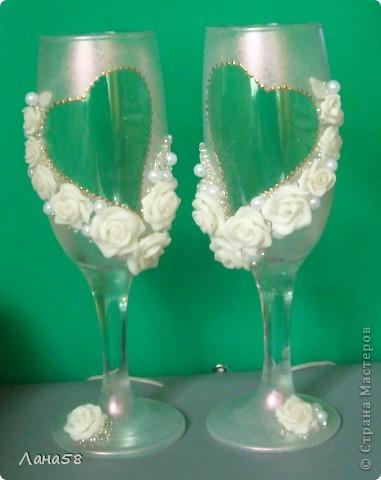 декор свадебных бутылок фото 8