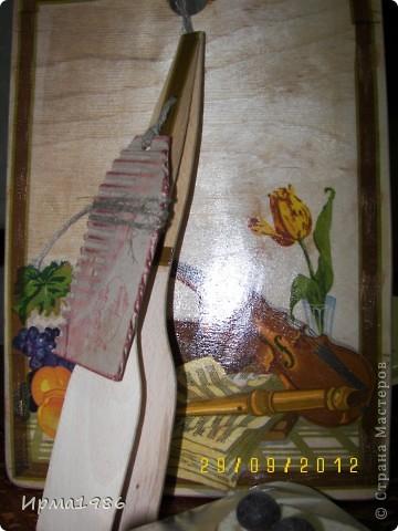 """Тортик полено с грибочками и листочками из мастики(своего """"производства""""))) фото 2"""