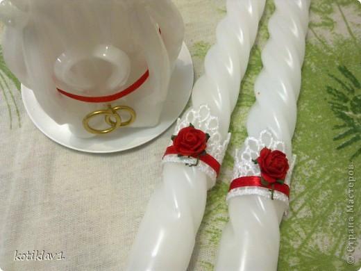 Наша красно-белая свадьба))) фото 3