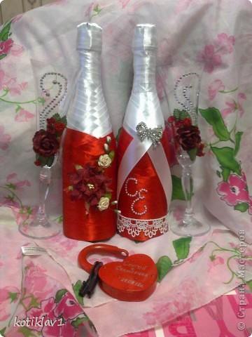 Наша красно-белая свадьба))) фото 4