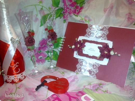 Наша красно-белая свадьба))) фото 5