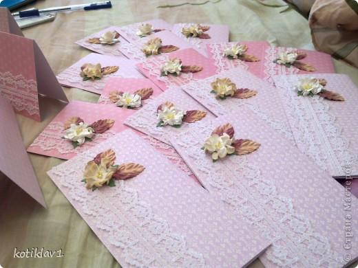 пригласительные на свадьбу МК фото 5