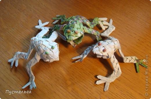 Сговорилися лягушки;  Сели, выкатив глаза,  Просидели два часа.  фото 2