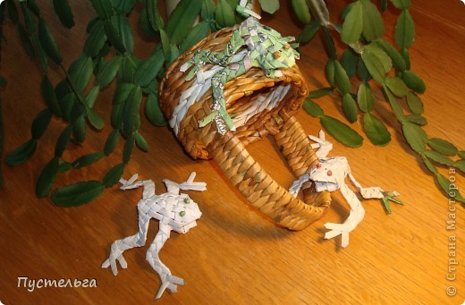 Сговорилися лягушки;  Сели, выкатив глаза,  Просидели два часа.  фото 31