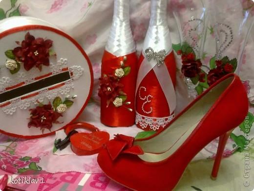 Наша красно-белая свадьба))) фото 1
