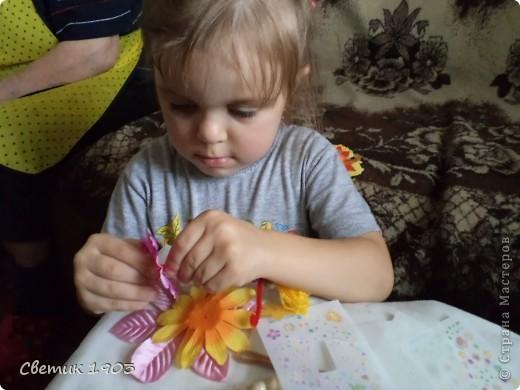 Сделали мы с внучкой маленьких фей. И поиграть с ними интересно, и подарить можно воспитателю.  фото 1