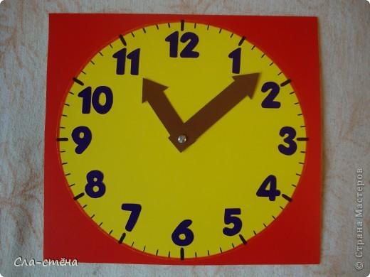 Как сделать из картона и бумаги часы