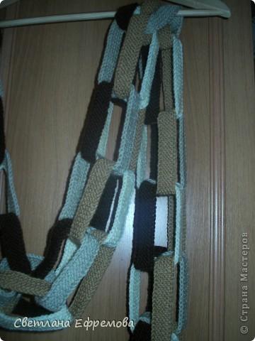 Цветные шарфики фото 3