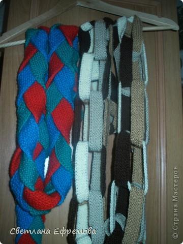 Цветные шарфики фото 1