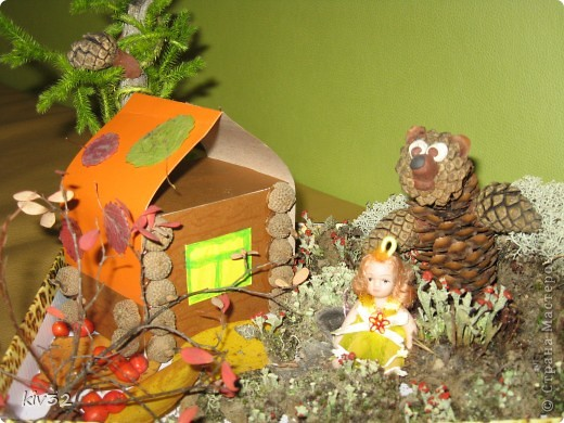 """Маша и Медведь""  - (вид с боку) фото 1"
