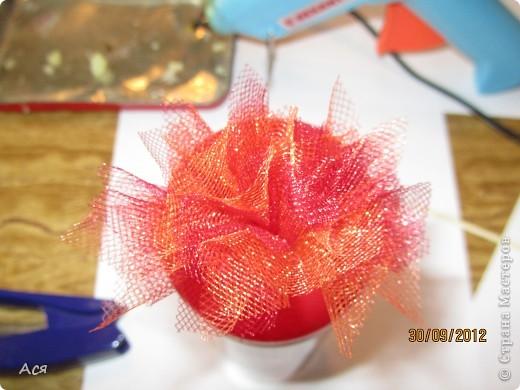 Мастер-класс Торцевание Мастер-класс по торцовкам из сетки органзы Сетка фото 1