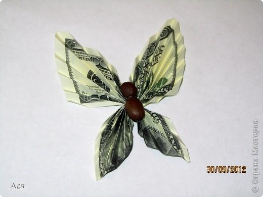 МК Денежная бабочка фото 6