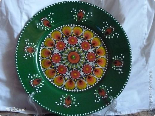 В продолжение первой тарелки, которую выкладывала ранее, творила продолжение...  фото 1