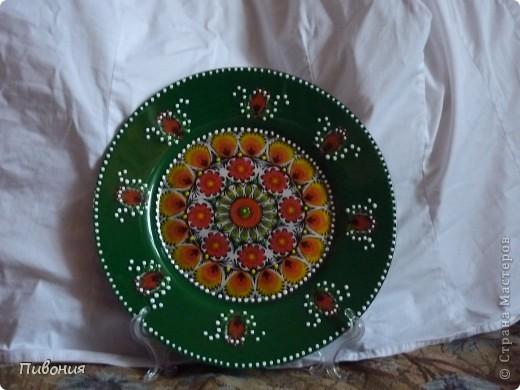 В продолжение первой тарелки, которую выкладывала ранее, творила продолжение...  фото 3