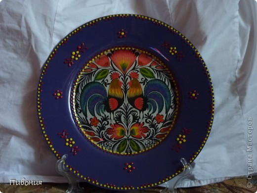 В продолжение первой тарелки, которую выкладывала ранее, творила продолжение...  фото 4