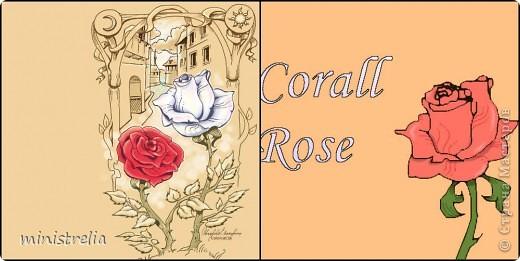 Нарисовала сегодня розу вот такую. Первая работа в компьютерной графике, строго не судите:) фото 3
