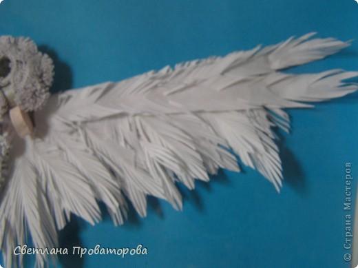 Дорогие Мастерицы. Это мой летящий голубок.    фото 3