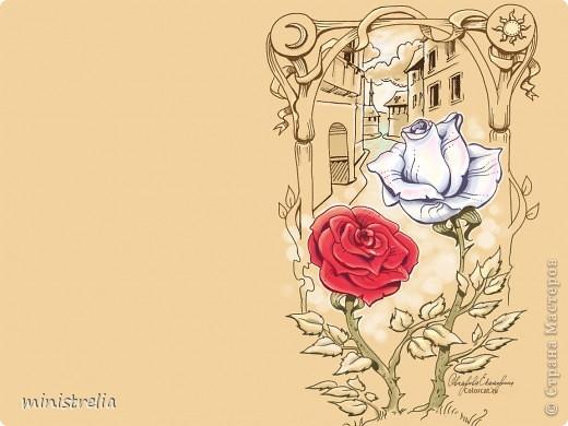 Нарисовала сегодня розу вот такую. Первая работа в компьютерной графике, строго не судите:) фото 2