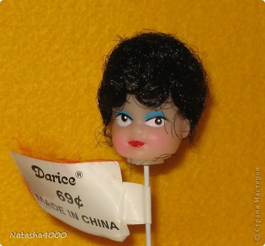 Куколок делали мы вдвоем с дочкой по наборам фирмы Pinflair, Великобритания. фото 4