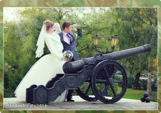 Решила поделиться фото-отчетом с нашей свадьбы)))) фото 7