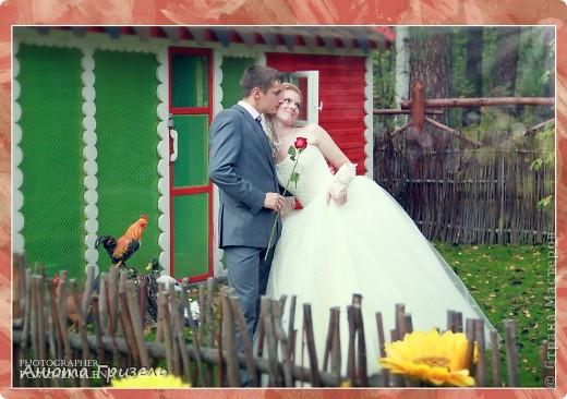 Решила поделиться фото-отчетом с нашей свадьбы)))) фото 10