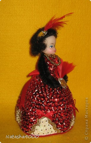 Куколок делали мы вдвоем с дочкой по наборам фирмы Pinflair, Великобритания. фото 19