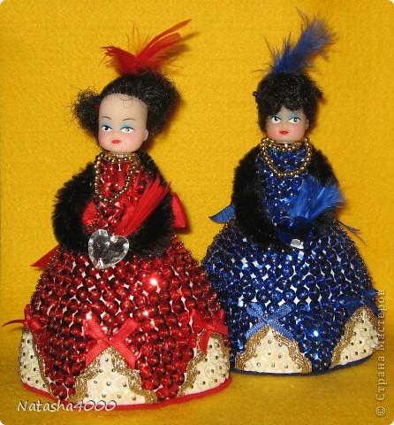 Куколок делали мы вдвоем с дочкой по наборам фирмы Pinflair, Великобритания. фото 1
