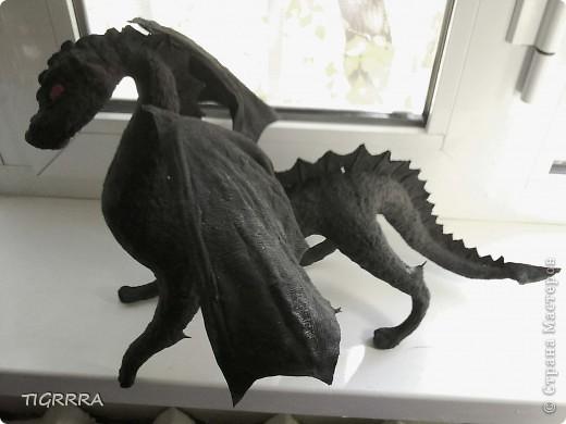 Очередное мое творение) был перекрашен трижды, в итоге остался черным.  фото 2