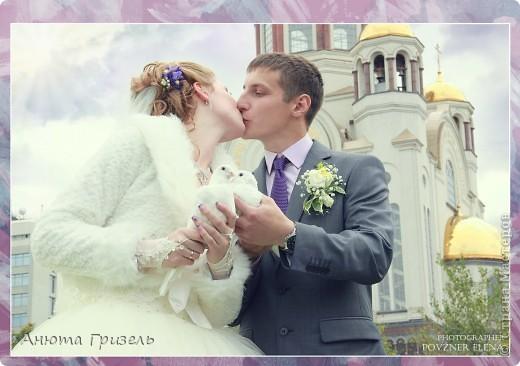 Решила поделиться фото-отчетом с нашей свадьбы)))) фото 6