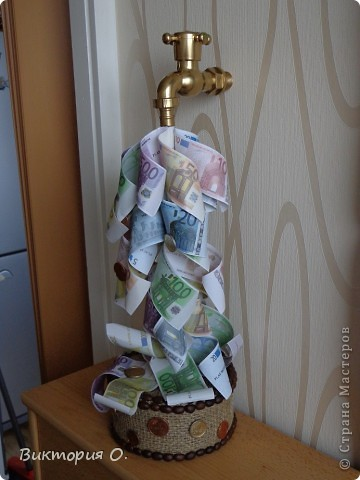 Спасибки Еленче за МК денежного крана!!! фото 3