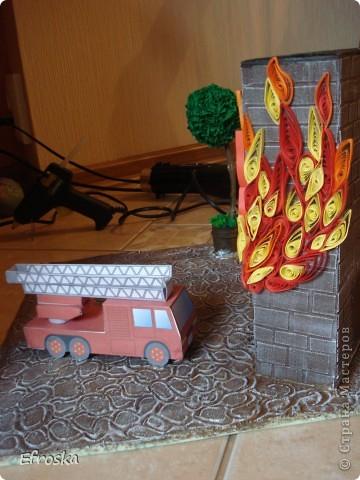 Поделки огонь в детский сад
