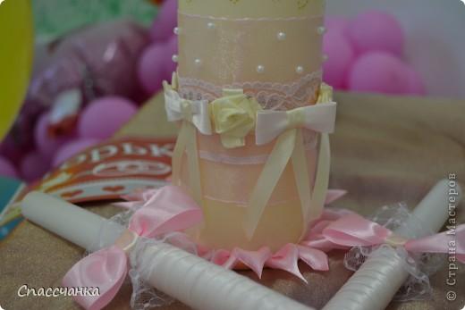 Ну вот и я заразилась свадьбами!! Спасибо мастерицам за такие подробные МК!!! Брала от каждого по чуть чуть!! Пока только повторюшки, набольшее пока неспособна!!! фото 15