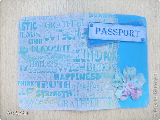 В субботу на занятии кружка мы с девочками делали обложки на паспорт. Наверное, не надо было показывать образец, потому что дизайн получился у всех одинаковый... Но зато бумагу все выбрали разную, в зависимости от своих предпочтений. фото 2