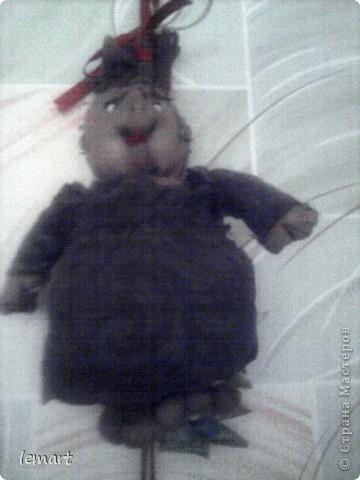 это моя первая кукла в чулочной технике. Марфуша. фото 1