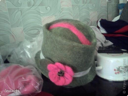 А это моя первая шляпа.