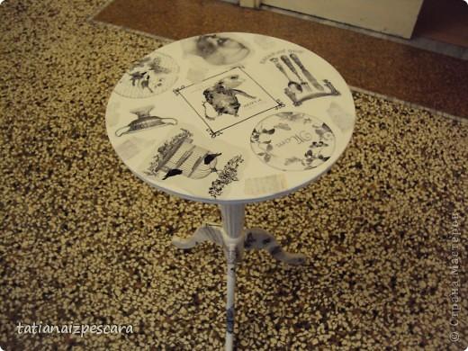 Декор круглого стола своими руками