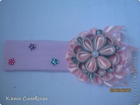Мои новые повязочки,сделаны на заказ для маленькой девочки. фото 1